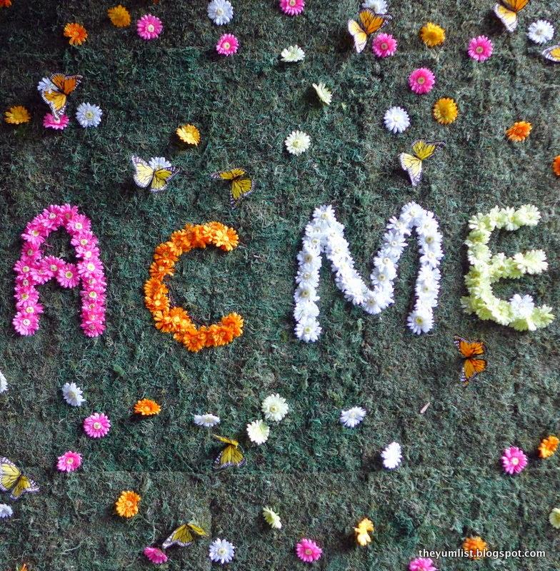 Acme Bar and Coffee (ABC), Spring Menu, Troika, Kuala Lumpur, Malaysia