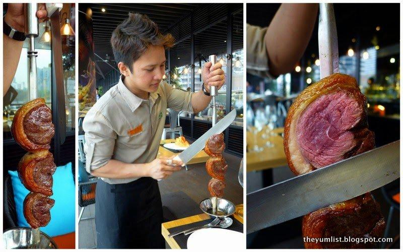 Samba, Brazilian Steak House, Avenue K, Kuala Lumpur, Malaysia