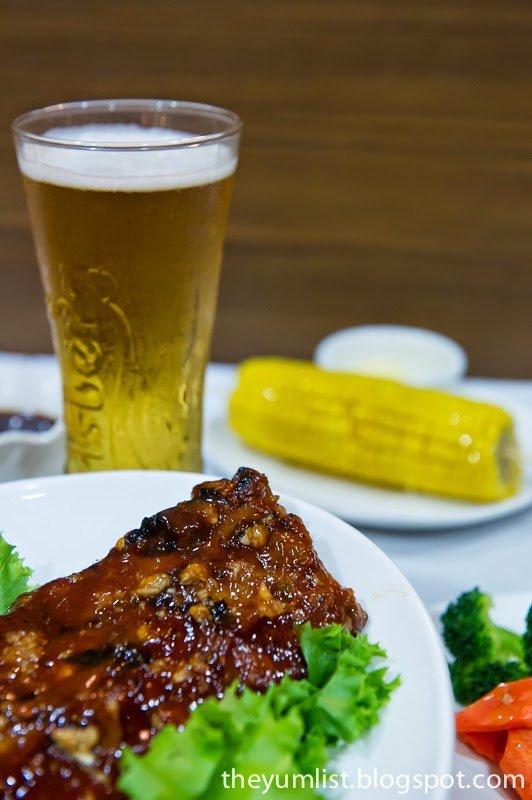 Father's Day Pork Ribs Special, Chicago Rib House, Petaling Jaya, Malaysia
