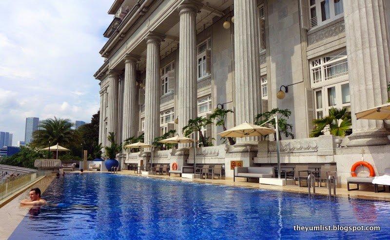 The Fullerton Hotel Singapore The Yum List