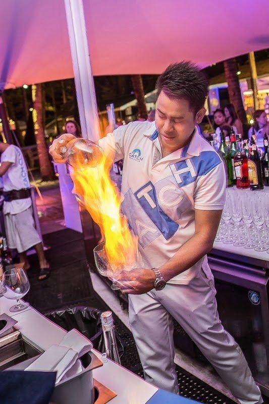 Interview with Mr. Krittawit Thongnarong (Ball), Catch Beach Club Bar Manager, Twinpalms, Phuket, Thailand