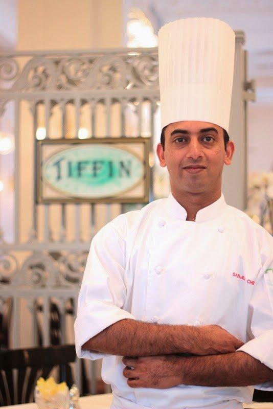 Sanjeev Chetal  Sous Chef, Tiffin Room Raffles Singapore