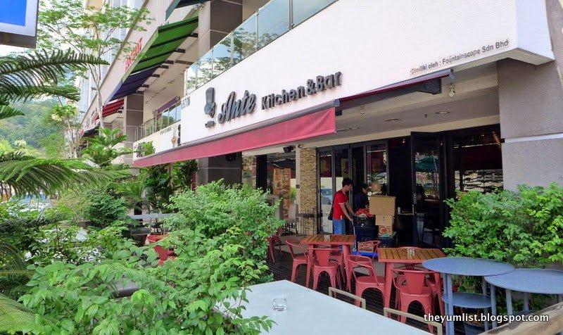 Ante Kitchen and Bar, Porky Brunch Menu, Publika
