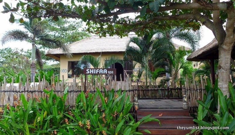 Shifaa Spa Entrance