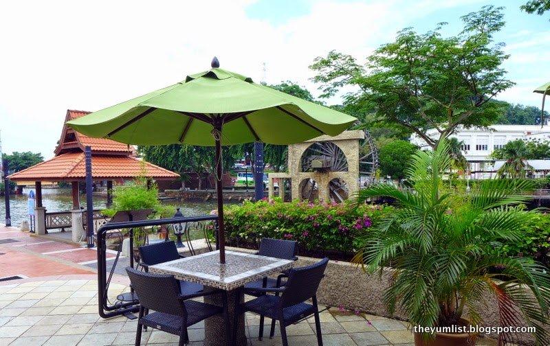 River Cafe, Casa del Rio, Melaka, Malaysia