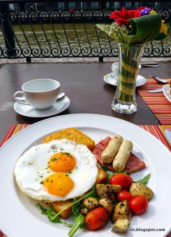 casa del rio, breakfast