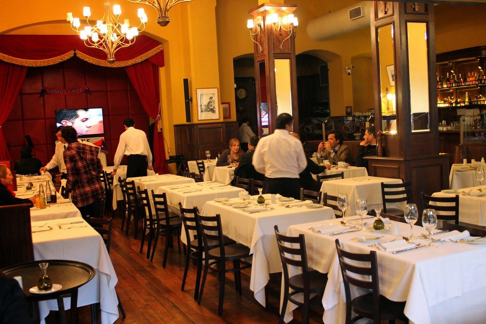 Cafe Torres, Santiago, Chile