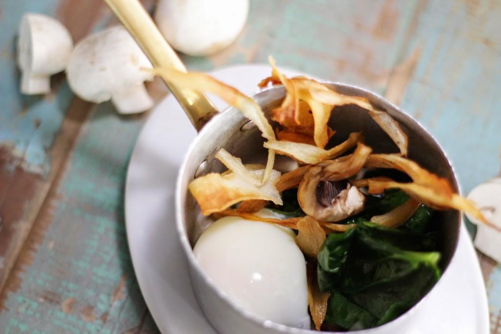Restaurant winter dish