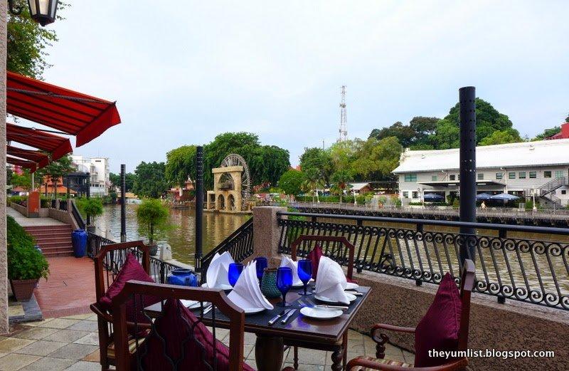 River Grill, Breakfast, Barbecue and A La Carte, Casa del Rio, Melaka, Malaysia
