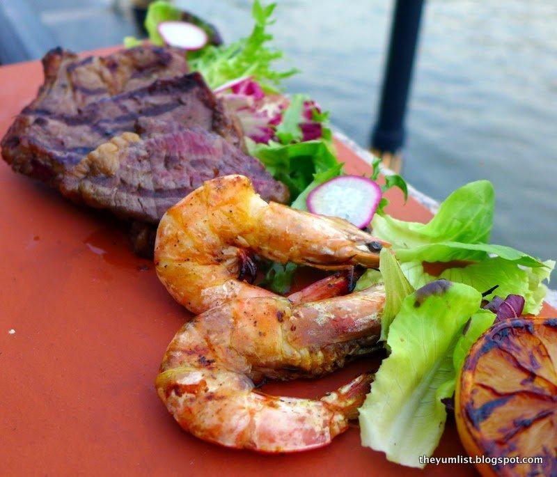 river grill, malacca