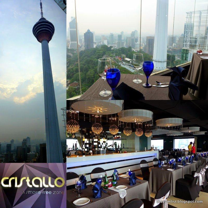 Cristallo de Luna, Pacific Regency Hotel Suites, Kuala Lumpur, Malaysia