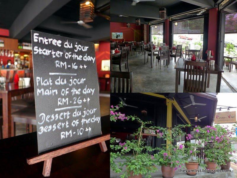 Rendez-Vous, French Restaurant