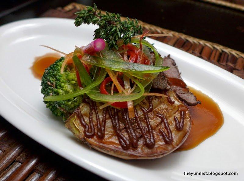 japanese restaurant, the andaman, langkawi
