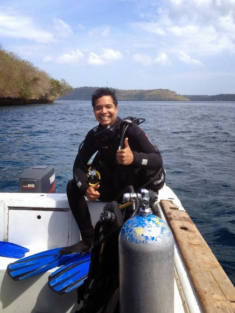 Scuba Diving Bali trip to Nusa Penida, Lembongan Island, Indonesia