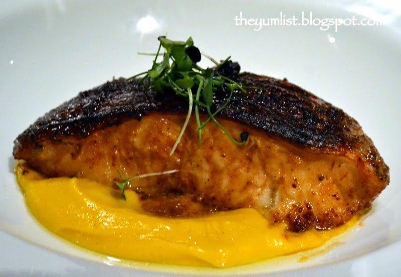 Cod with Pumpkin Cream Sauce