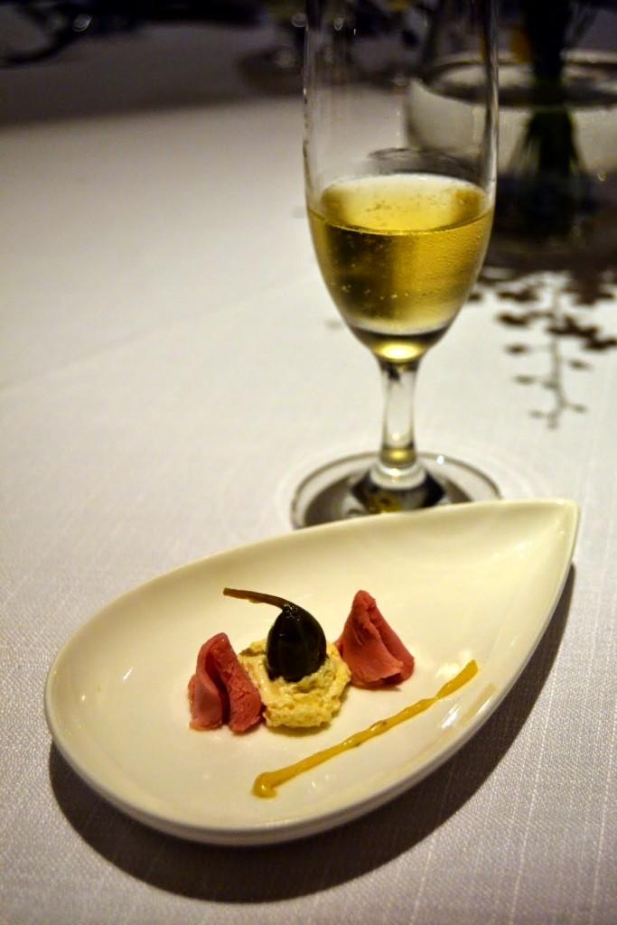 Amuse Bouche, Mandarin Grill