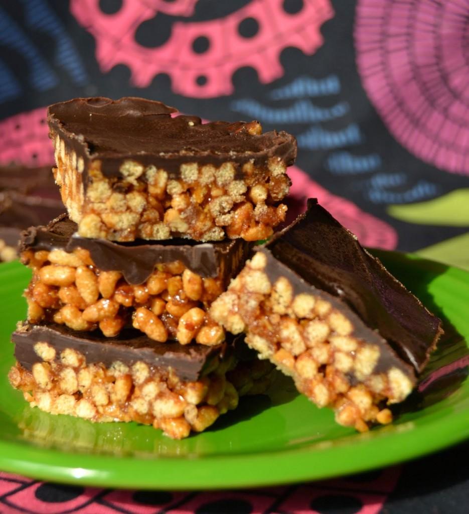 Caramel Nut Crunch, Slices of Heaven by Jenny