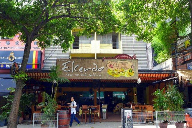 El Cerdo, Changkat Bukit Bintang