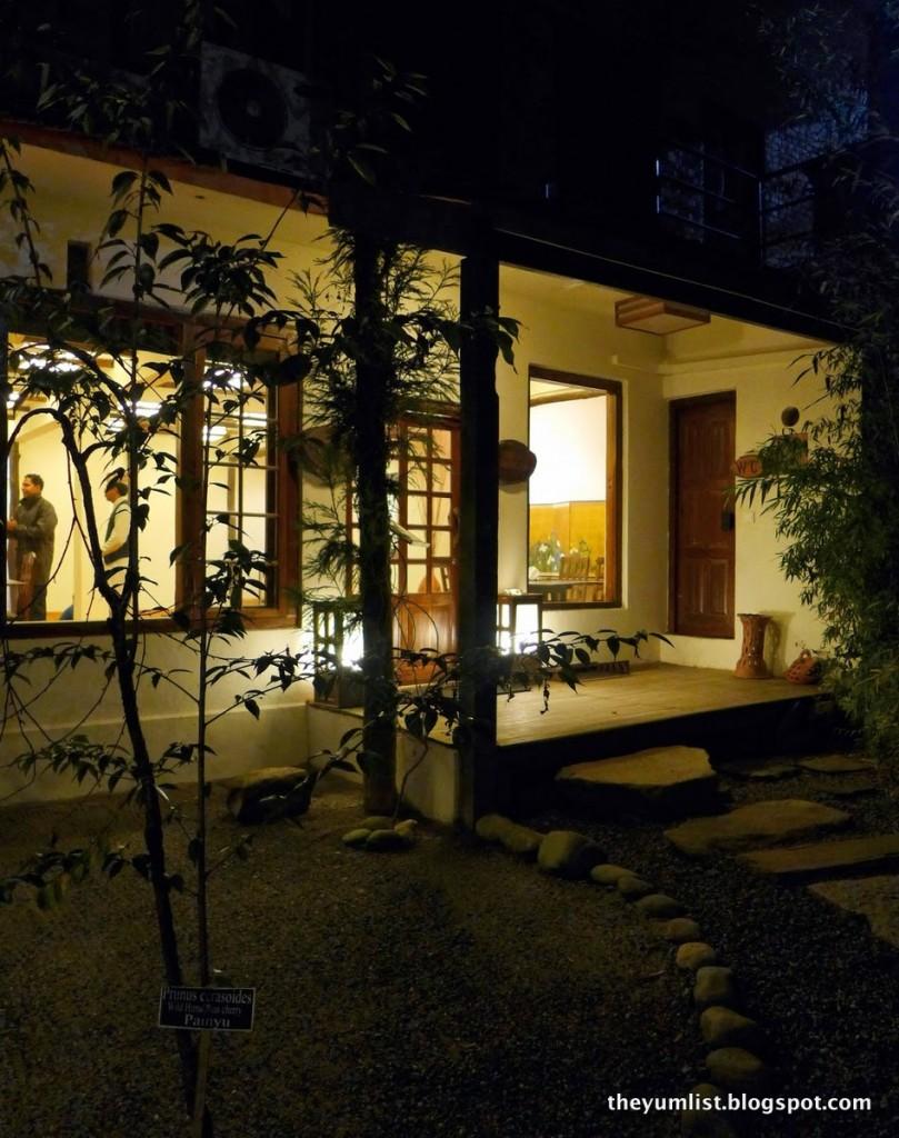 Mako's Zen, Dwarika's Resort, Dhulikhel, Nepal