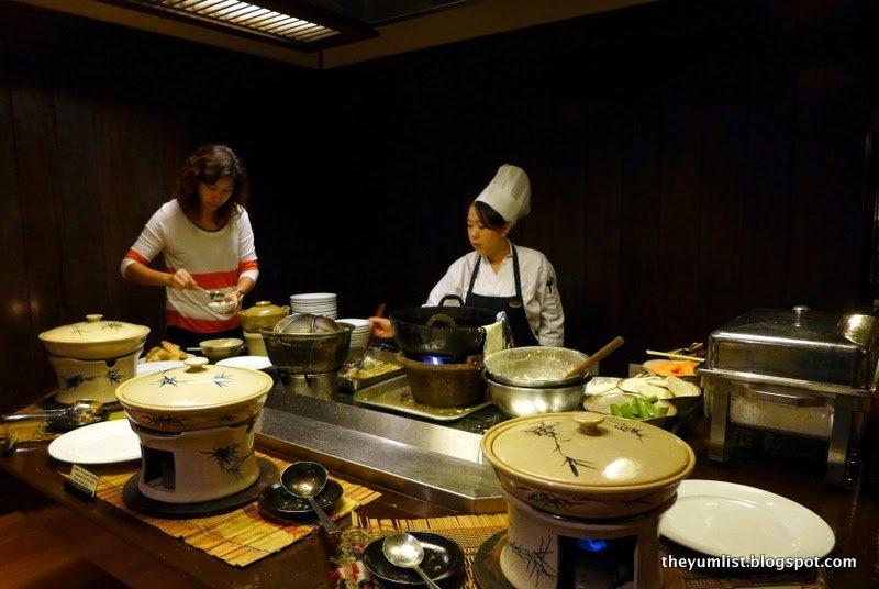Nagisa Japanese Restaurant, Hyatt Regency Kinabalu