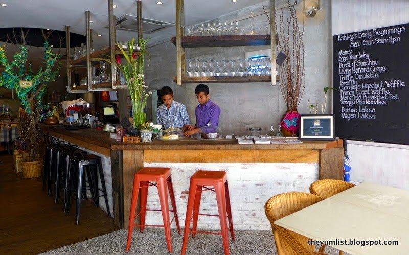 Ashley's by Living Food, Bangsar