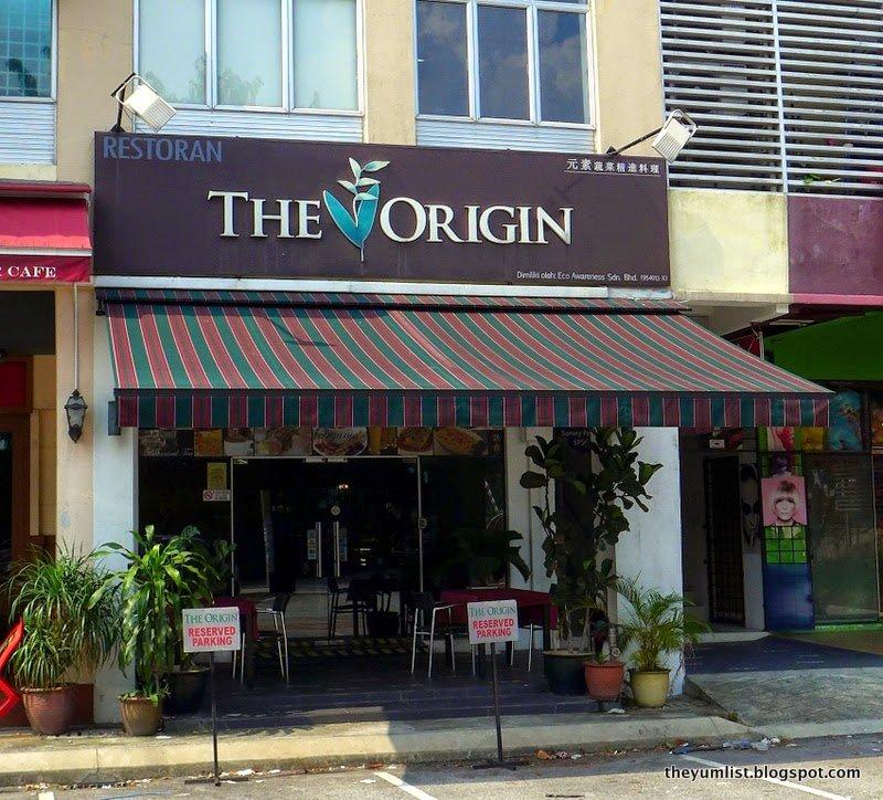 The Origin, Vegetarian Restaurant, Ampang