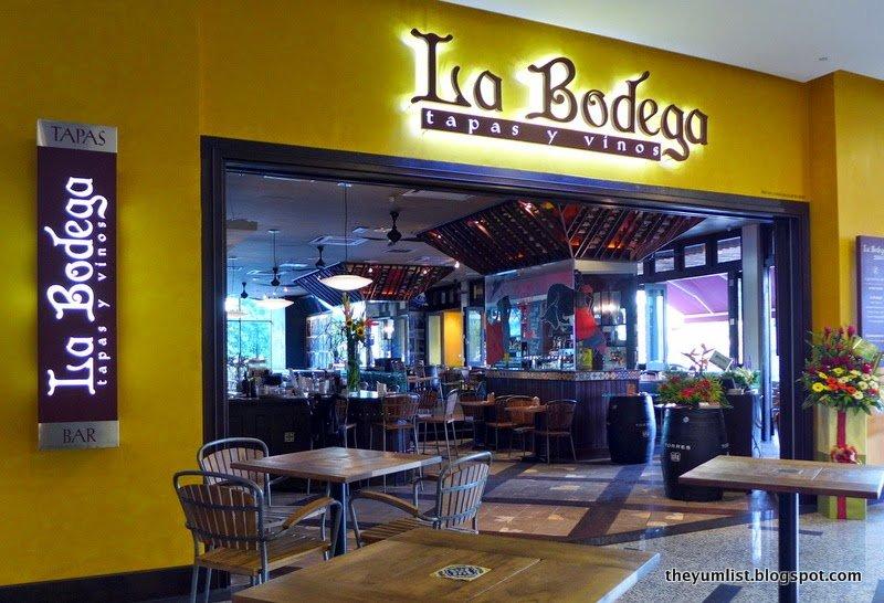La Bodega, Spanish Tapas and Bar, Malacca