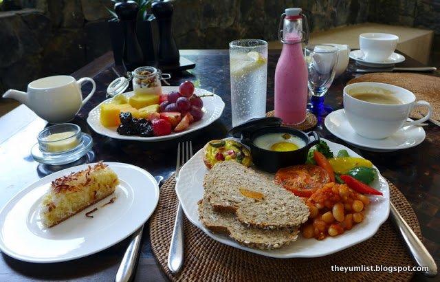 Breakfast at The Datai Langkawi, Malaysia