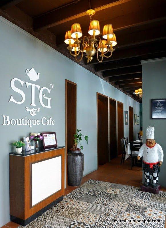 STG Boutique Cafe, Oldtown, Ipoh