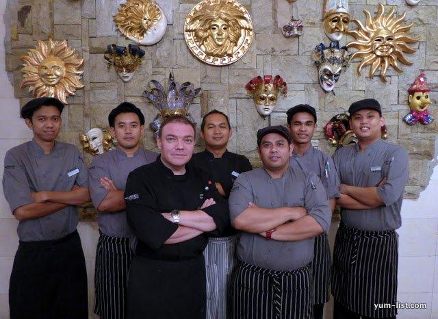 Favola, Italian Restaurant, Le Meridien Kuala Lumpur