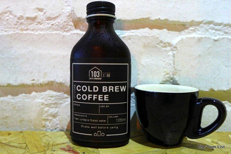 Cold Brew Coffee, 103 Coffee Workshop