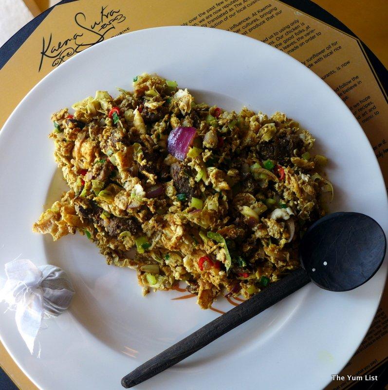 Kaema Sutra, Colombo