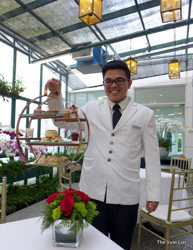 afternoon tea, the orchid room, the majestic kuala lumpur