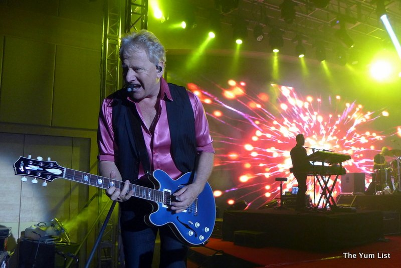 soft rock concert Air Supply, One World Hotel