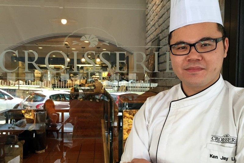 Chef Ken, Baker at Croisserie