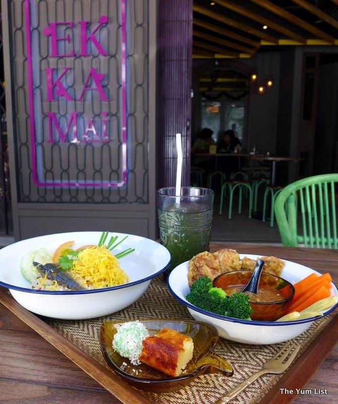 Ekkamai, Jalan Batai, Thai restaurant,
