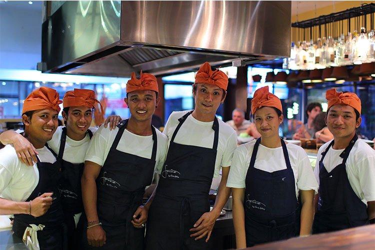 Chef Abu Goh and Team