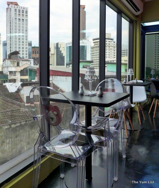 rooftop cafe, Bukit Bintang