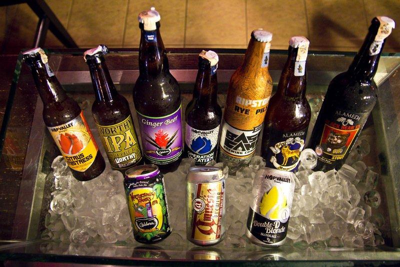 Bucket of Craft Beer