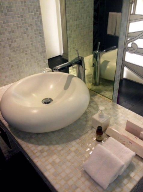 Wanderlust Pop Art Bathroom