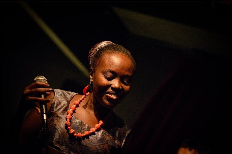 African musician in Kuala Lumpur, Uganda