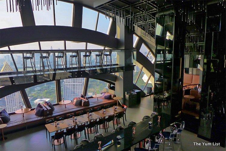 Vertigo Too Banyan Tree Bangkok Bar With A View The