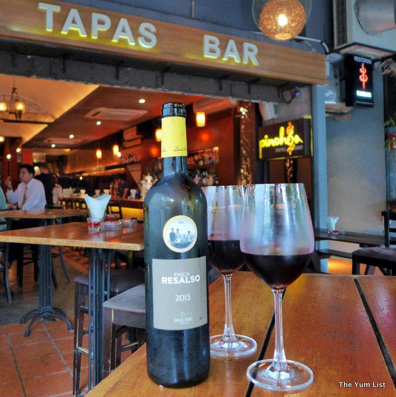 Pinchos Tapas Bar, Changkat Bukit Bintang