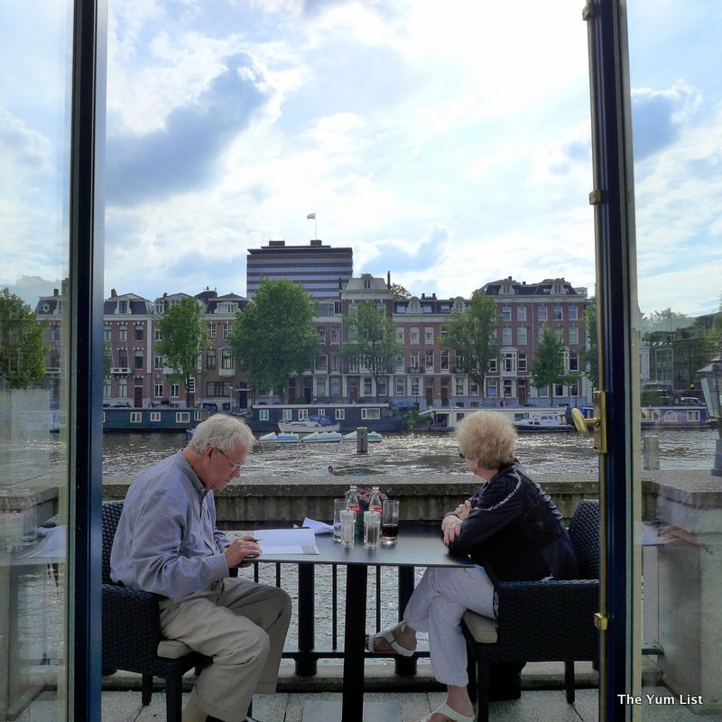 Table for Two at Amstel Intercontinental Amsterdam
