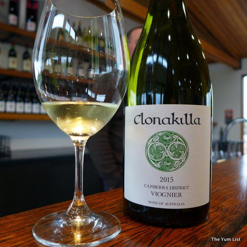 Clonakilla wines, Canberra