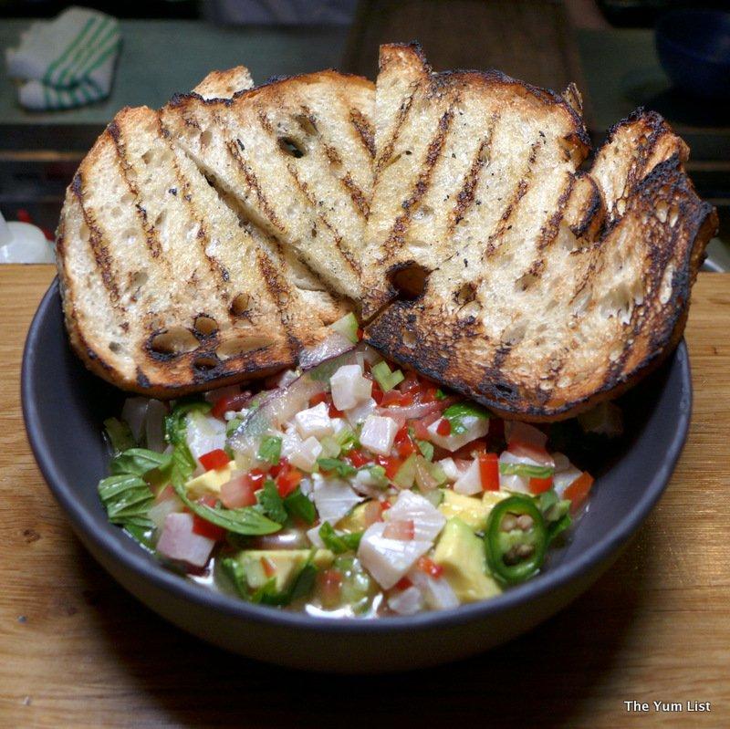 eighty six, Braddon, Restaurant review