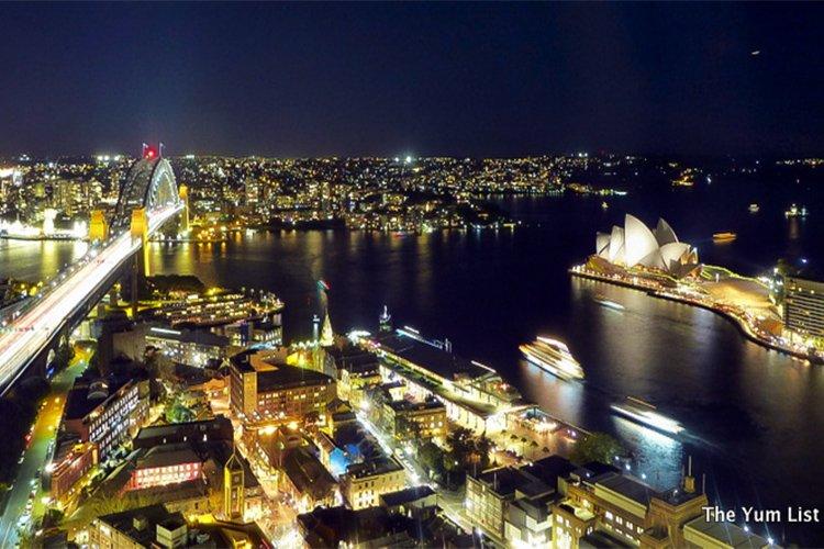 Altitude Restaurant, Shangri-La Hotel Sydney