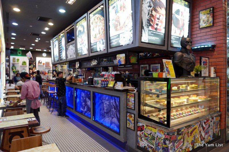 DC Comics Cafe, Pavilion