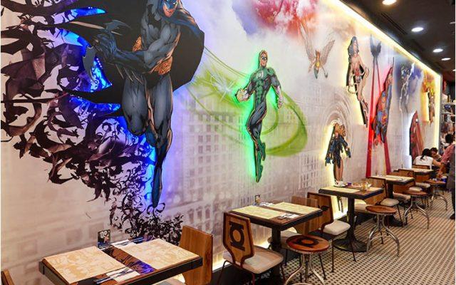 DC Comics Cafe, Pavilion, Kuala Lumpur