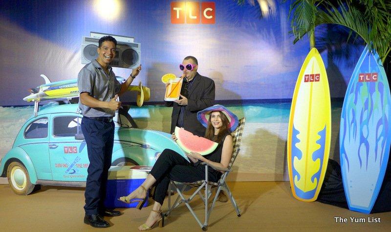 Surfing the Menu, Australian Cooking Show, TLC